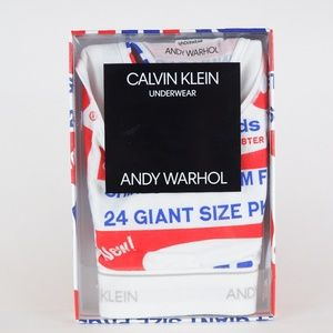 Calvin Klein x Andy Warhol Brillo Racerback Bra S